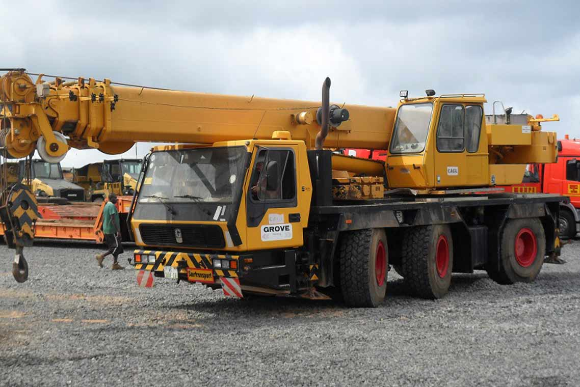Grove crane rebuild pasico for Crane grove