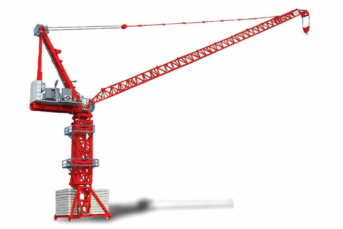 Tower-Crane-with-Luffing-Jib